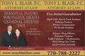 Tony  L Blair P.C. Attorney At Law