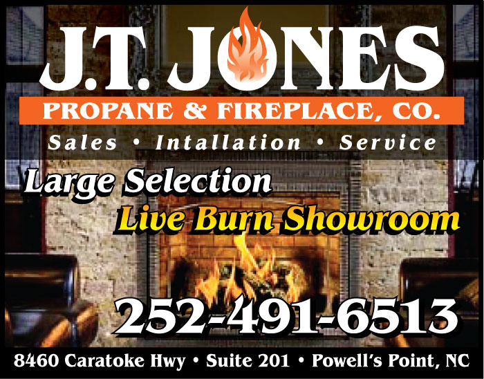 J T Jones Propane & Fireplace Co - Powells Point, NC, 27966