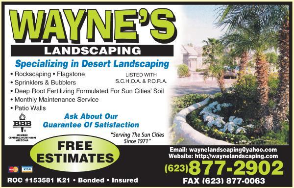 Wayne's Landscaping. 5453854e03b8d910da0004e7 - Wayne's Landscaping - Phoenix, AZ, 85037
